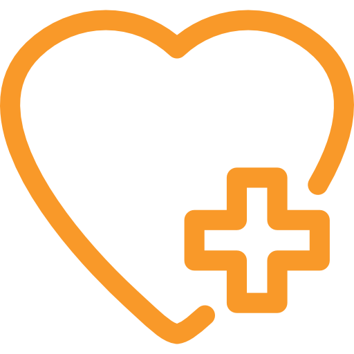 Icon of a heart linking to the find an NHS service section.